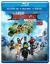 Lego Ninjago Movie Blu-ray 3D