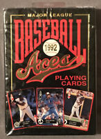 1992 U.S. Playing Card Co. Major League Baseball Aces Playing Cards - New