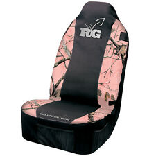 REALTREE GIRL PINK CAMO CAMOUFLAGE UNIVERSAL SEAT COVER , CAR, AUTO, TRUCK