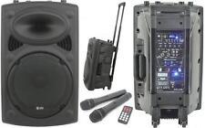 Haut-parleur Portable QTX 178.843 Pré-Amplifié Microphone Sans-fil Rechargeable