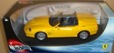 Hotwheels Yellow 550 Barchetta 1:18 Scale MIB