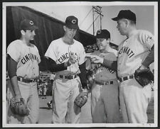 1956 Orig BB Press Photo - Reds Pitchers