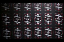 Red Arcane Uncut Playing Cards Sheet Rare & Limited (Ellusionist)