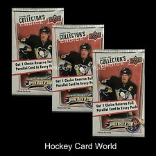 (HCW) 2008-09 Upper Deck Collectors Choice Hockey Hobby Pack x3 Lot - Stamkos RC