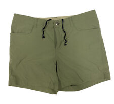 PATAGONIA Women's Shale Green Quandary Lightweight HIKING SHORTS Size 10