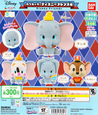 Bandai Capchara Disney Friends Part 4 Gashapon Dumbo Timothy Set of 4pcs