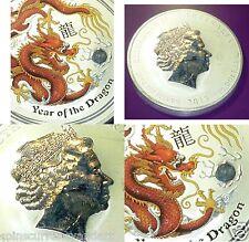 2012 Australia 10 oz Silver Year of the Dragon