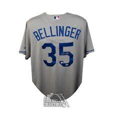 Cody Bellinger Autographed Dodgers Gray Majestic Baseball Jersey - Fanatics