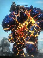 Ark Survival Evolved Xbox One Pve Royal Blue Golem Clone W/ Saddle