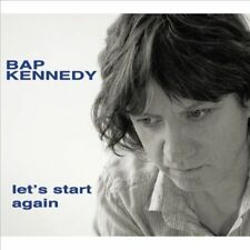 Let's Start Again [LP] by Bap Kennedy (Vinyl, Feb-2014, Proper Records)