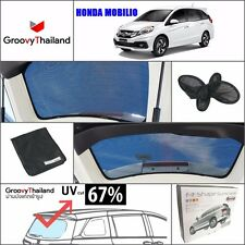 1 PC BACK REAR WINDSCREEN FOLDABLE MESH SUN SHADE ASSEMBLY FIT FOR HONDA MOBILIO