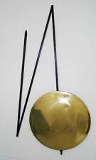 Balancier pliable horloge pendule comtoise avec lentille laiton +/-15,5 cm