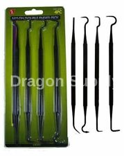 "New 4pc 7 1/4"" Nylon Double Ended Pick Set Gun Cleaning Crafts Electrical Auto"