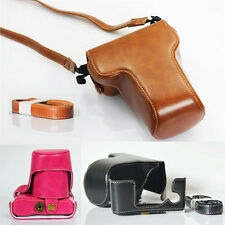 Fashion Camera Case Vintage PU Leather Cover Bag For FujiFilm Fuji X-A3 XA3 XA10