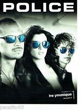 PUBLICITE ADVERTISING 116  2011  Police   collection lunettes solaires