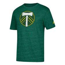 "Portland Timbers MLS Adidas Men's ""Vintage Too"" Dark Green Tri-Blend T-Shirt"