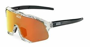 KOO Demos Cycling Sunglasses Clear / Red Mirror Lenses