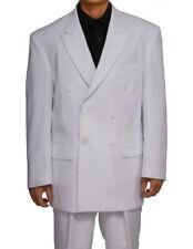 Men's 2 pcs double breasted suit solid color Fortino Landi/Milano Moda #901P