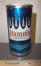 Hamm's beer can, Tin can blue & trees style, (empty) great graphics & colors