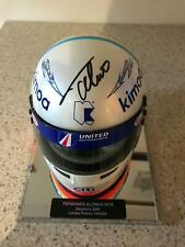 2018 Fernando Alonso signed Daytona 24 hours Replica F1 Limited Ed 1:2 Helmet