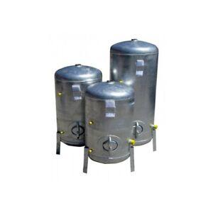Druckbehälter 100L bis 300L 9  bar senkrecht verzinkt  Druckkessel verzinkt für
