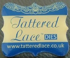Tattered Lace Dies Pin Badge - Free 1st Class Post - NEW