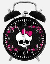 "Monster High Alarm Desk Clock 3.75"" Room Decor Z01 Nice for Gifts wake up"