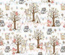 Corzo bosque gris Erizo 100/% Tela De Algodón 160cm Ancho Niños Impreso