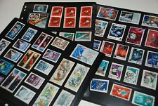 Space STAMPS Collection = Rocket, Gagarin, Moon, Planet, Spaceship,.. Russia
