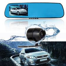 HD KFZ 1080P 170° 4.3'' DVR Auto Kamera Dashcam Rückfahrkamera Spiegel JQ