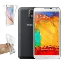 Funda Doble Silicona para SAMSUNG GALAXY NOTE 3 Gel TPU Transparente 360º s913