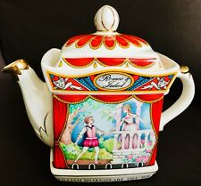 "Collector's Registered Design James Sadler ""Romeo & Juliet"" Ironstone Teapot"