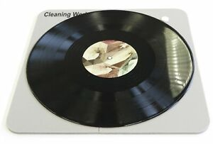 PROFESSIONAL VINYL RECORD CLEANING WORK MAT - ANTI-STATIC ESSENTIAL CLEANING KIT