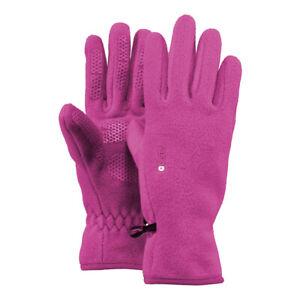 Barts Kinder Mädchen warme Winter Handschuhe Fleece Gloves Kids Fuchsia Pink