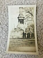 Confederate Civil War Monument Capitol Montgomery Alabama Vintage Photograph