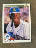 MINT Centered 1990 Upper Deck #156 Ken Griffey Jr. Baseball Card MT Mariners