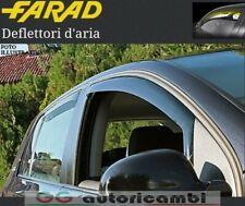 COPPIA DEFLETTORI ARIA FARAD FIAT PUNTO 1993>1999 5 PORTE ANTIVENTO ANTITURBO