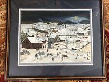 Will Moses Moonlight Coasting Framed Signed Limited Edition Lithograph 124/350