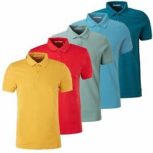 S.OLIVER Herren Poloshirt Knopfleiste 100% Baumwolle bequem Farben | SONDERPREIS