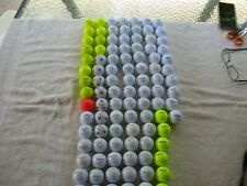 100 Taylor & Pinnacle golf Balls 5A Condition
