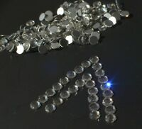 Flat Back Clear Crystals Rhinestones Gems NAIL ART Crystal Rhinestones