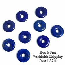 1 PC Natural Lapis Donut Bead 20mm - New DIY Design Wholesale Rare A Grade