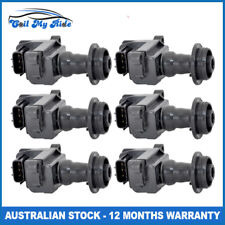 6 x Ignition Coils for Nissan Skyline, StageA 6 Cyl 2.0L, 2.5L Turbo & Non Turbo