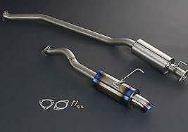 J's Racing:EP3 SUS Exhaust plus 60RS, T304-P3-60RS