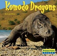 Komodo Dragons (Bridgestone Books World of Reptiles)-ExLibrary