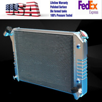 KKS POLISHED 3 ROWS ALUMINUM RADIATOR FIT Plymouth Belvedere//Satellite V8 63