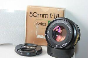 Nikon Series E 50mm f1.8 AI-S Manual Prime Standard Pancake Lens.Boxed