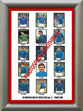 IPSWICH TOWN - 1970-71 - REPRO STICKERS A3 POSTER PRINT
