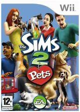 Nintendo Wii Spiel - Die Sims 2: Pets ENGLISCH mit OVP