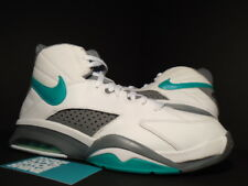 2011 Nike Air Flight MAESTRO PIPPEN SAMPLE WHITE GREEN TEAL GREY BLACK BLUE DS 9